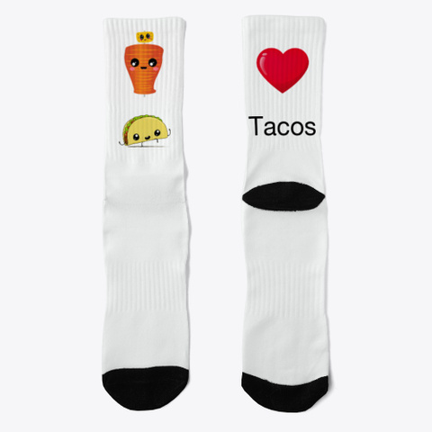 Love Tacos Standard T-Shirt Front