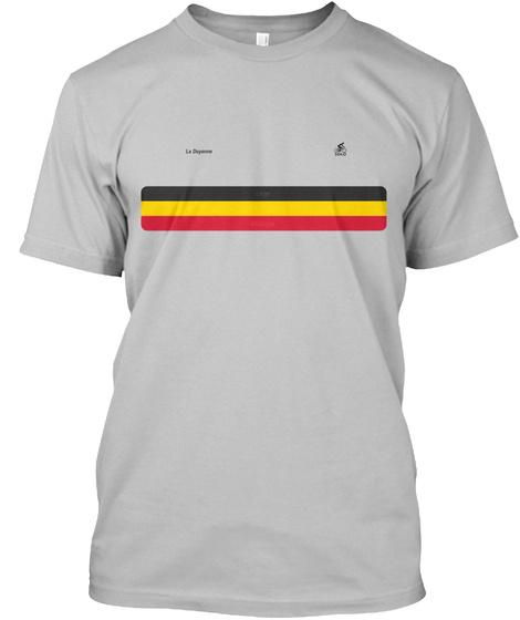Liège–Bastogne–Liège Tribute T Shirt Sport Grey áo T-Shirt Front