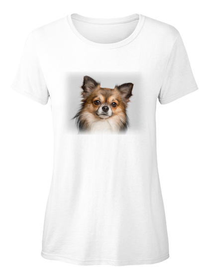 Chihuahua Ellesson White T-Shirt Front