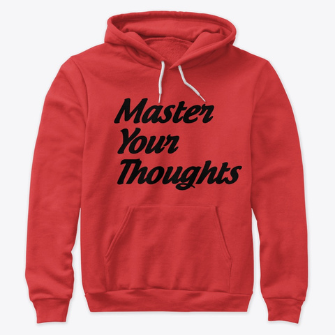 Inspirational Apparel  Red Sweatshirt Front