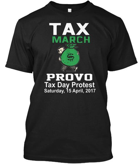 Provo Black T-Shirt Front