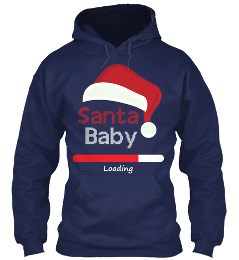Pregnancy Christmas Sweater.Christmas Pregnancy Santa Baby Sweater
