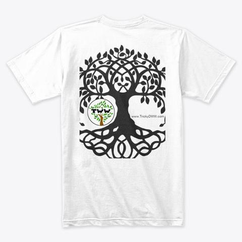 Tww Tree Of Life Series White T-Shirt Back