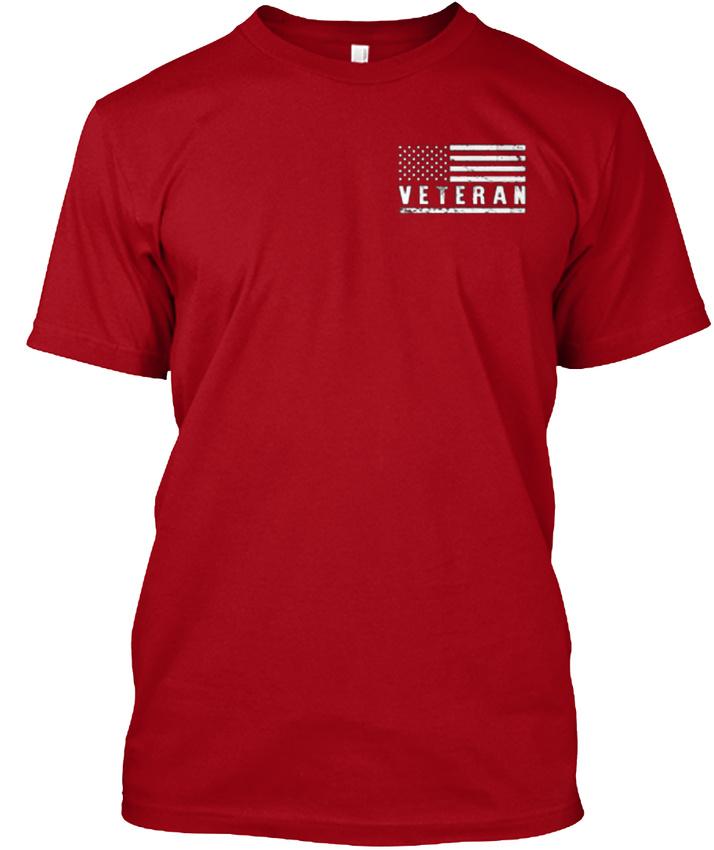 American-War-Vets-Community-Veteran-This-Oath-Never-Hanes-Tagless-Tee-T-Shirt thumbnail 8