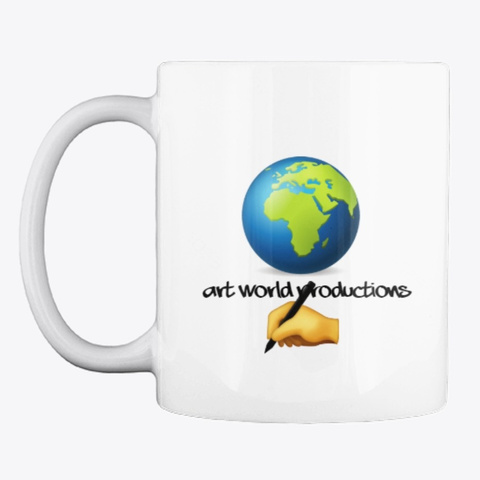 Art World Productions Mugs White T-Shirt Front