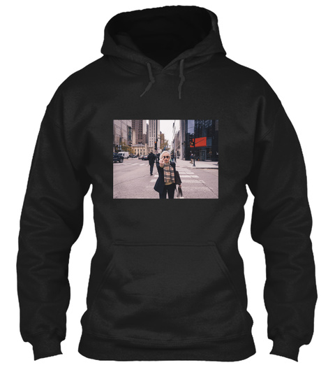 Have A Nice Day! Black Sweatshirt Front