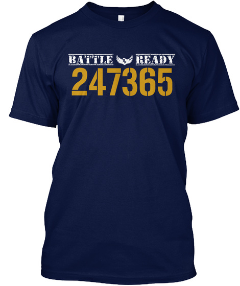 Battle Ready 247365 Navy T-Shirt Front