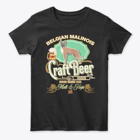 Belgian Malinois Gifts Black T-Shirt Front