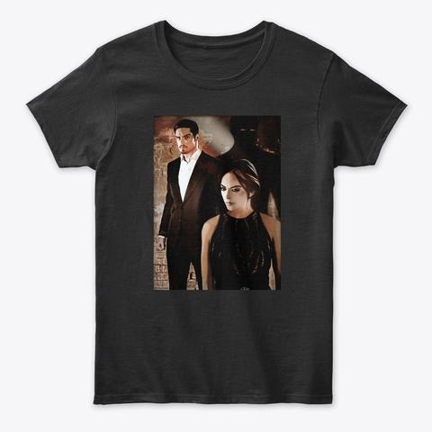 Vin Cat  N° 3  : Love Is A Battlefield  Black T-Shirt Front