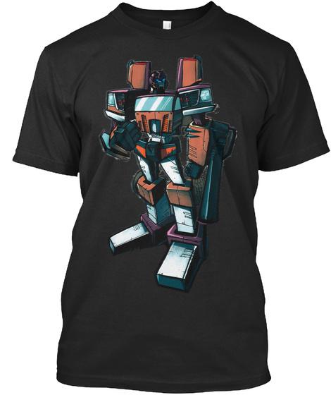 Ultimus Prime Black T-Shirt Front
