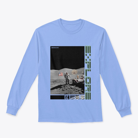 Be The First Light Blue T-Shirt Front
