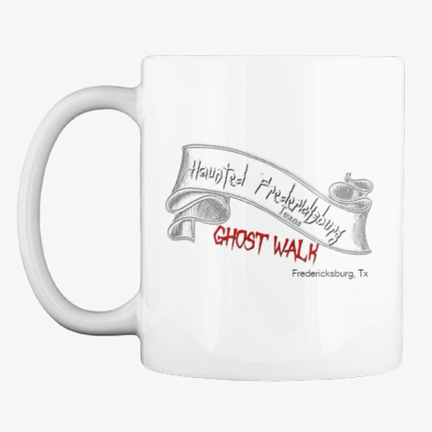 Ghost Walk Peed My Pants Mug White T-Shirt Front