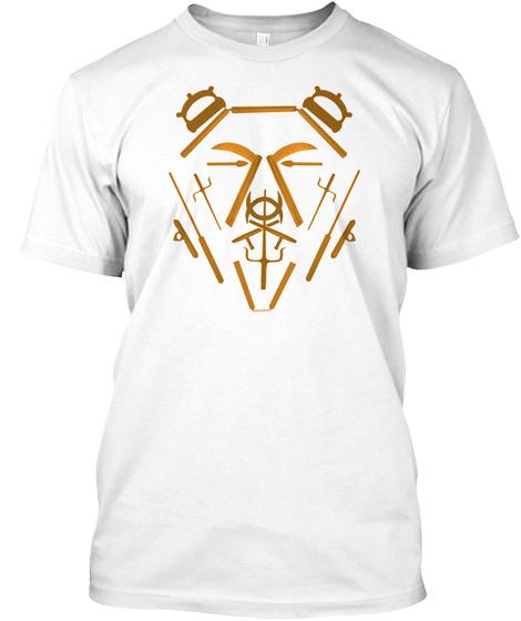 Ko Bear Do White T-Shirt Front