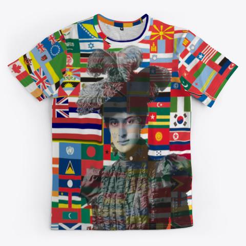 #Mana Wahine International Women's Day Standard T-Shirt Front