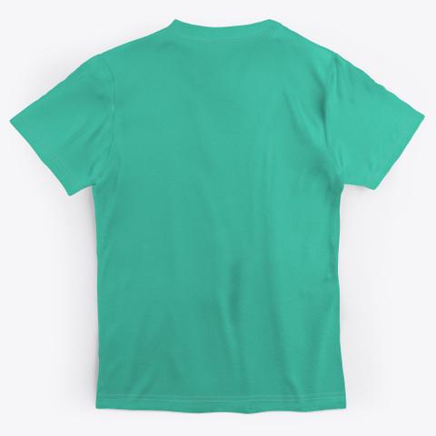 The Woods  Aqua T-Shirt Back