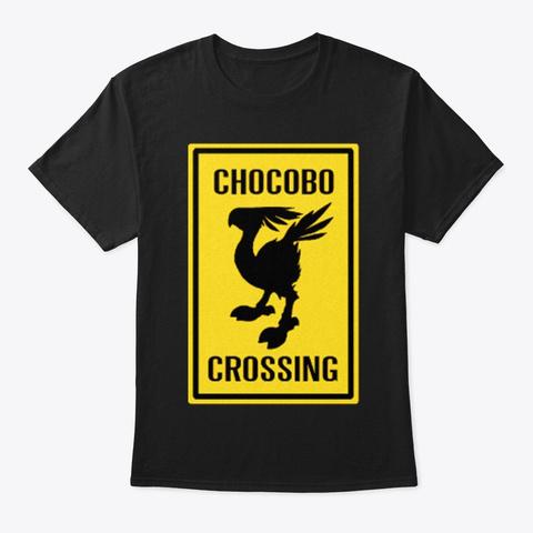 Ch0cob0 Crossing Black T-Shirt Front