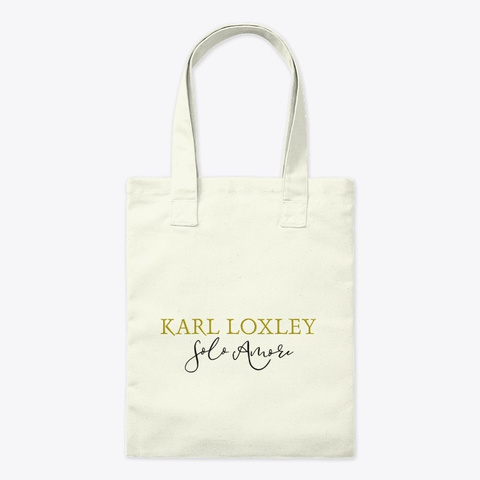 Karl Loxley Merchandise Natural T-Shirt Front