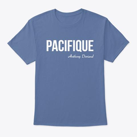 Pacifique Denim Blue T-Shirt Front