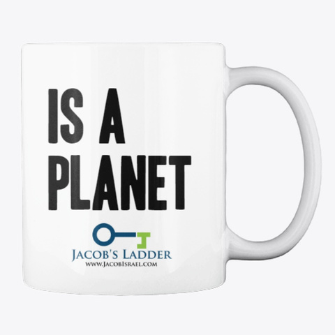 Uranus Is A Planet Coffee Cup White T-Shirt Back