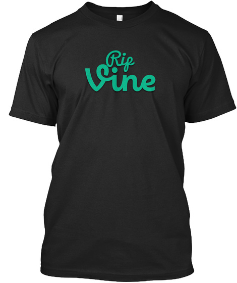 Rif Vine Black T-Shirt Front