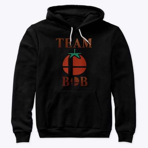 Team Bob  Black Sweatshirt Front