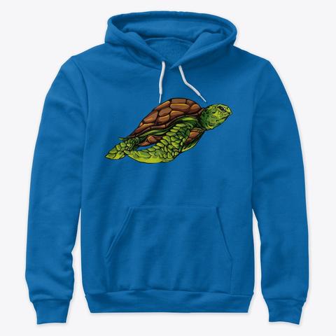 Turtle True Royal T-Shirt Front