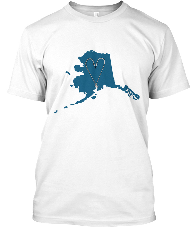 Alaska Fishing Love Unisex Tshirt