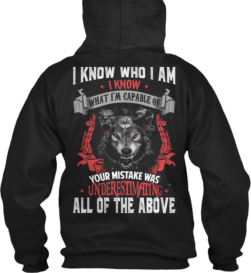 I KNOW WHO I AM Unisex Tshirt
