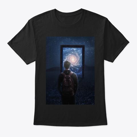 The Portal Black T-Shirt Front