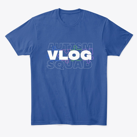 Our Squad Deep Royal T-Shirt Front