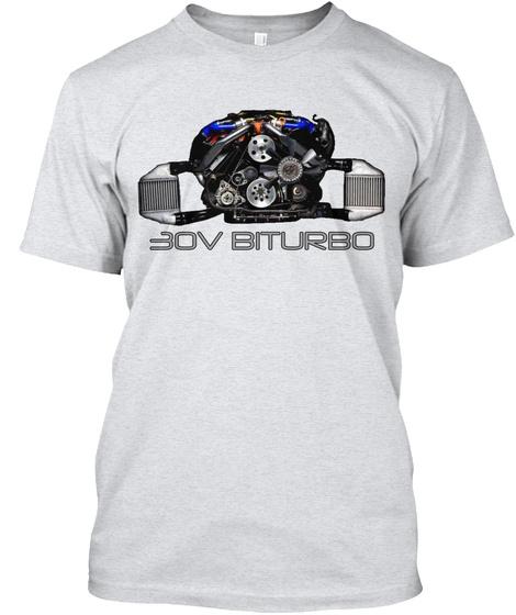 Eov Biturbo  Ash T-Shirt Front