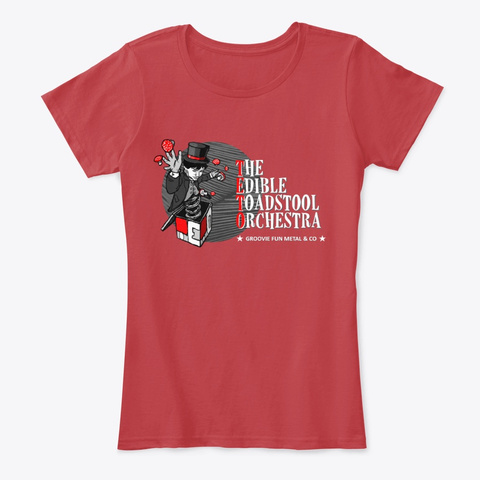 Teto Woman Shirt (Red) Classic Red T-Shirt Front