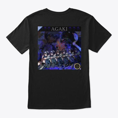 Agaki Home Radio Shirt Of Epic Black T-Shirt Back