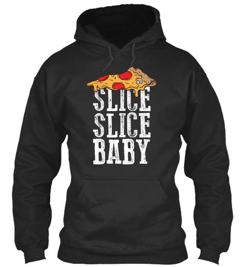 Slice Slice Baby Jet Black Sweatshirt Front