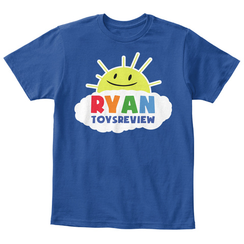 Ryan Toysreview Deep Royal  T-Shirt Front