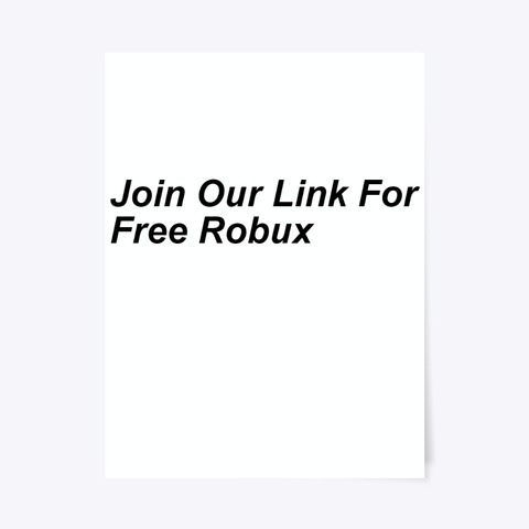 ¶¶Free Robux Codes 2020 No Survey Roblox Standard T-Shirt Front
