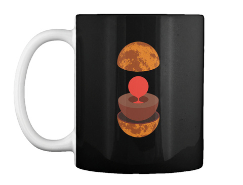 Layers Venus Mug V [Usa] #Sfsf Black Mug Front