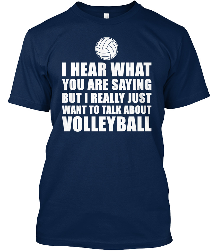 Volleyball-Gift-Idea-T-shirt-Elegant-S-5XL