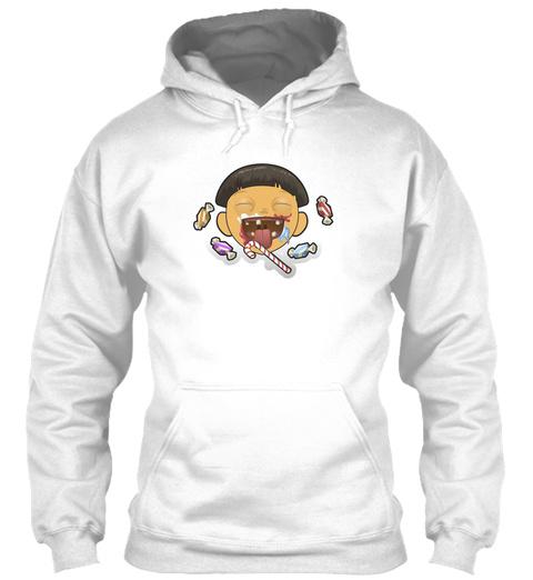 Personnage Drole Bonbons   White T-Shirt Front