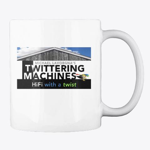 Twittering Machines Folk Singer Mug White T-Shirt Back