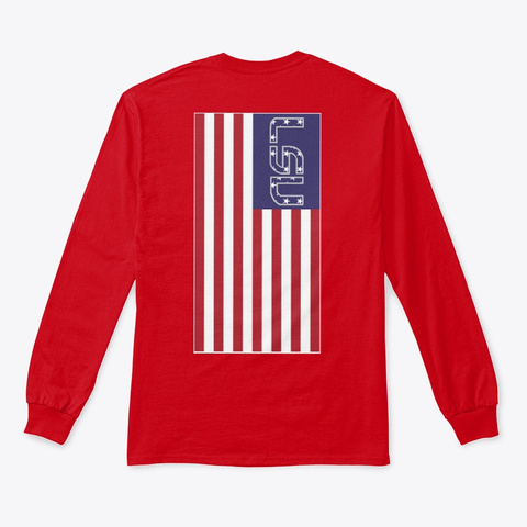 Tiger Nation Red T-Shirt Back