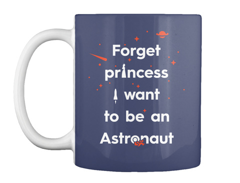 Forget Princess 3 Mug [Int] #Sfsf Dark Navy Mug Front
