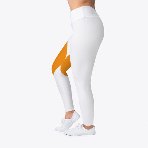 Bitcoin Leggings Standard T-Shirt Left