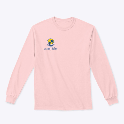 Sunny Isles Collection 3 Light Pink T-Shirt Front