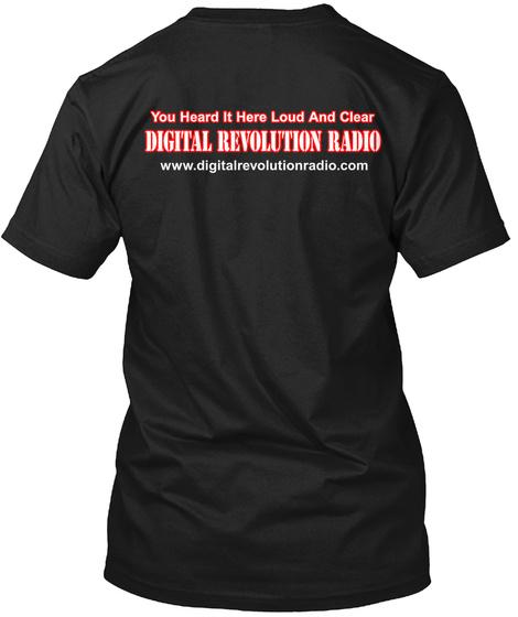 Rock Casserole Honors The Warning  Black T-Shirt Back