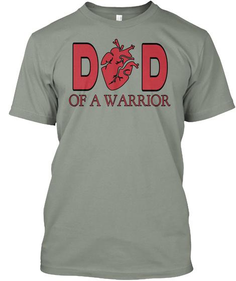 Do D Of A Warrior Grey T-Shirt Front