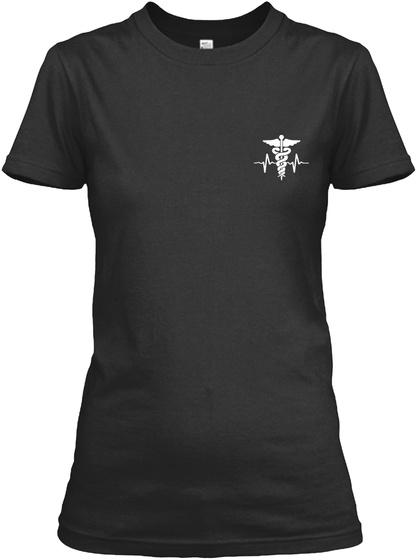Proud Er Nurse Shirt Black T-Shirt Front
