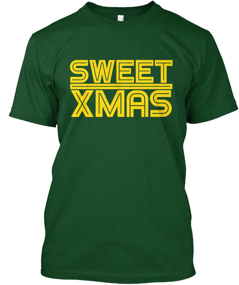 Sweet Xmas Deep Forest T-Shirt Front