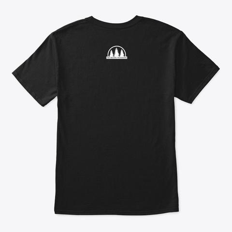 Frontier Usa   Daniel Boone Black T-Shirt Back