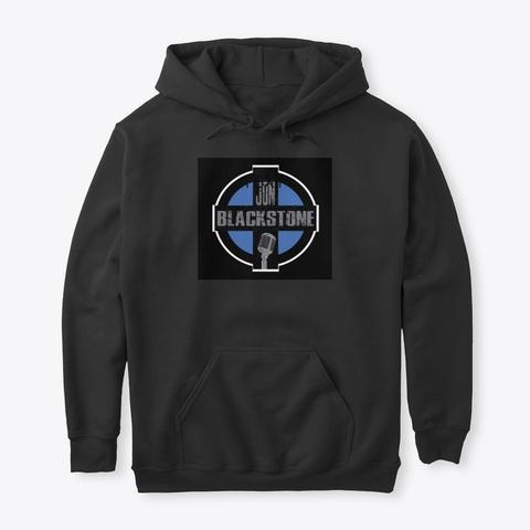 Jon Blackstone Black T-Shirt Front